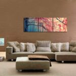 Gardenia Art - Red Maples Wall Art