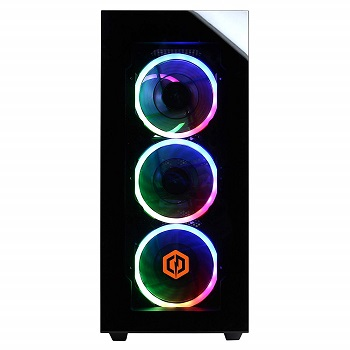 CYBERPOWERPC Gamer Supreme SLC8260A2 front panel