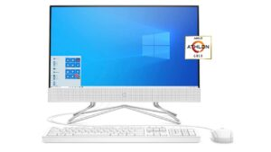 HP 22 All-in-One PC (22-df0022, 2020) Review