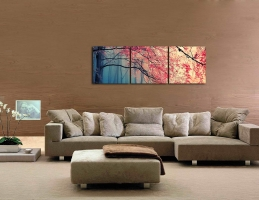 Gardenia Art – Red Maples Wall Art Review